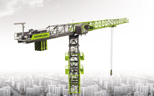 Flat-top Tower Crane T2850-120V